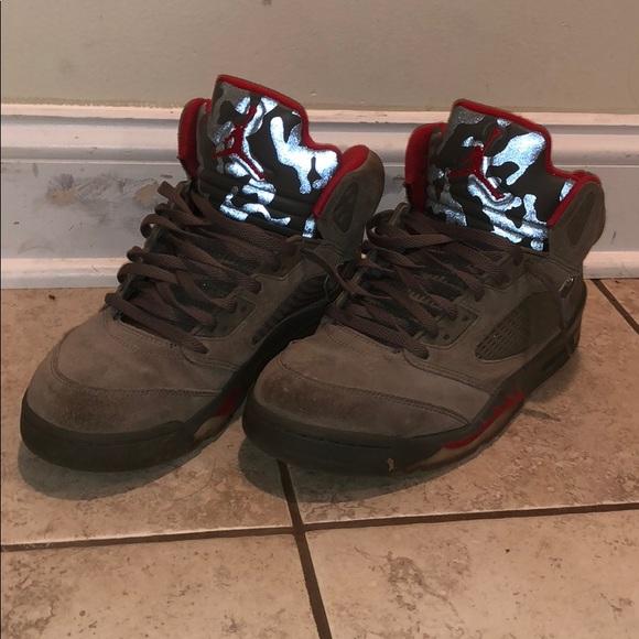 Air Jordan 5 Reflective   Poshmark